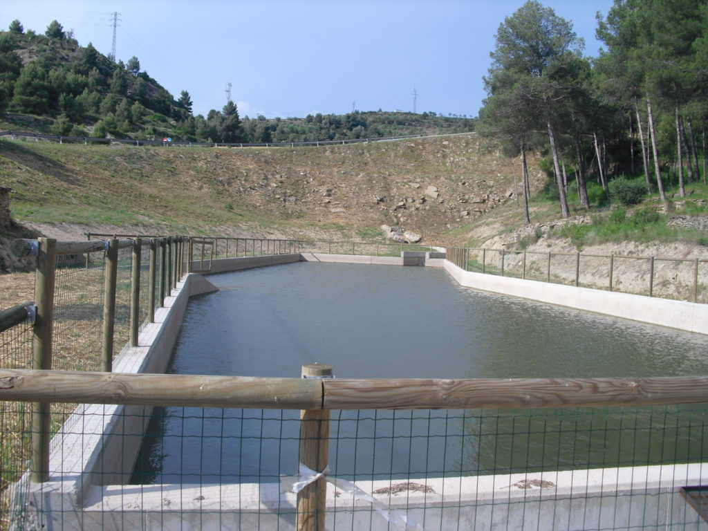 Gestió de les aigües del Parc Ambiental de Bufalvent