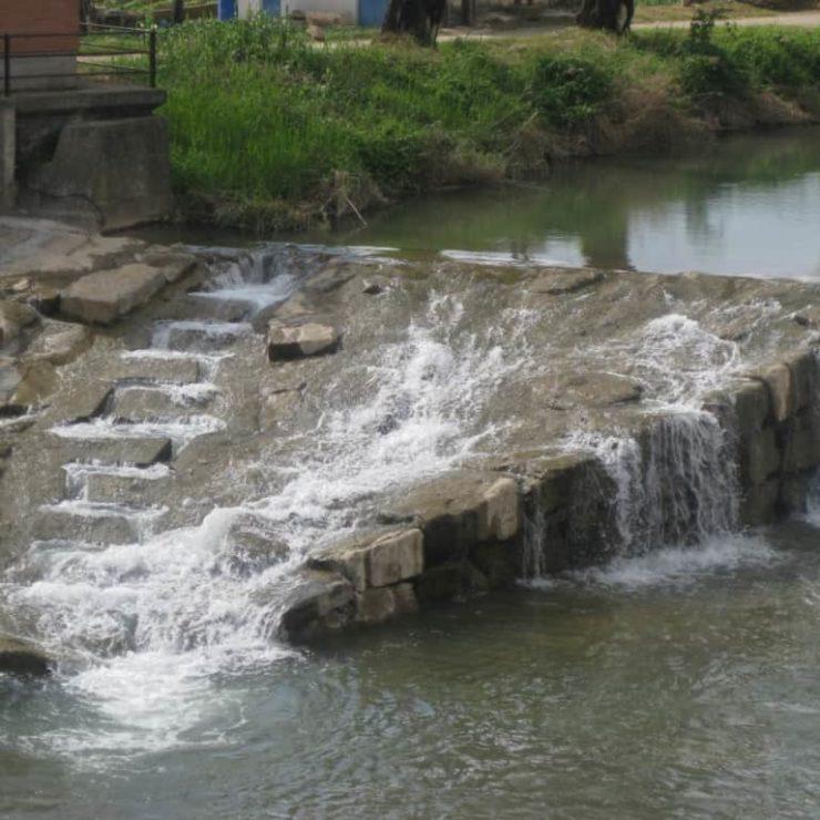 Connector fluvial – escala de peixos