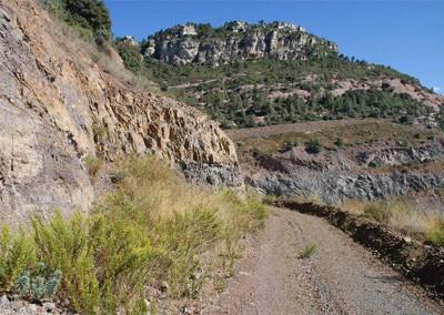 Projecte de restauració minera
